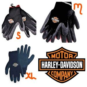 HARLEY DAVIDSON motorcycle RUBBER mechanic GLOVES